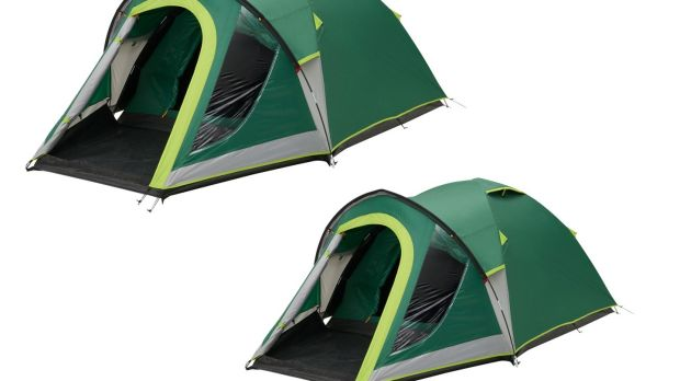 Coleman's BlackOut tents have a layer of black polyurethane, blocking out 99% of sunlight