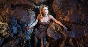 Lisa Dwan in No's Knife, now at the Abbey Theatre