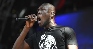 Stormzy: vote Corbyn. Photograph: Angela Weiss/AFP/Getty Images