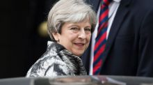 "British prime minister Theresa May: a former minister was pleased to report May had ""agreed to listen to all the wings of the party"" on Brexit. Of the party, note. Photograph: Will Oliver/EPA"
