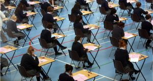 The State Examinations Commission is investigating the publication of a Leaving Cert paper on a Facebook page. Photographer: Dara Mac Dónaill