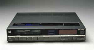 Sony's Betamax VCR launched in 1974. In 1976, rivals JVC came out with their own VHS format VCR, which doubled the recording time available. Within a decade the Betamax had become virtually obsolete. Photographs: Getty Images