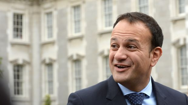 Fine Gael Leader Leo Varadkar, who is set to become the youngest taoiseach in the history of the State. Photograph: Brenda Fitzsimons