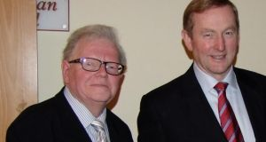 Kevin O'Malley with Enda Kenny