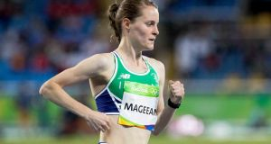 Ireland's Ciara Mageean is aiming for titles and new records. Photograph: Inpho