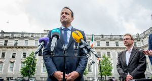 Leo Varadkar: it will almost certainly fall to the incoming taoiseach to decide when and in what form to proceed with a referendum on abortion. Photograph: Brenda Fitzsimons