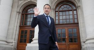 Leo Varadkar at Government Buildings, Dublin. File photograph:  Collins