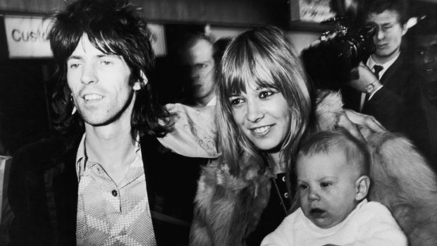 With Keith Richards on his return to England after the group's disastrous concert at Altamont in December 1969. Photograph: Daily Express/Hulton Archive/Getty Images