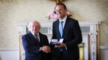 Leo Varadkar vows to lead government of 'new European centre'