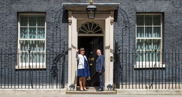 Arlene Foster and her deputy Nigel Dodds arrive at 10 Downing Street for talks & The next loyalist death lands at Downing Streetu0027s door