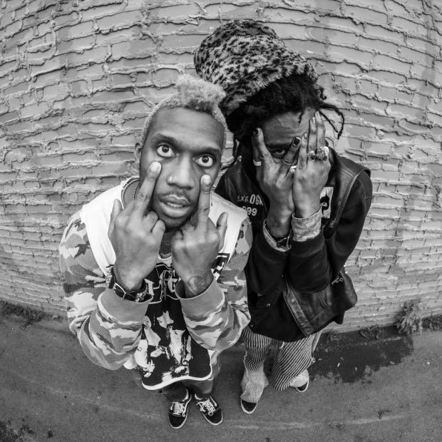 "Eye know: Ho99o9. ""It's pretty much always been dark for us and the light just comes on occasionally and it gets dark again"""