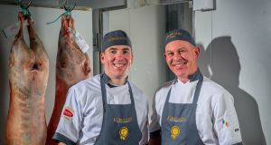 "Barry and Shane Kerrigan of Kerrigans Craft Butchers: ""At this point we can cater for most health goals, whether people are looking for gluten-free, low-salt, no carbs or low fat content products.,"" says Barry"