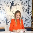 Gwyneth Paltrow signing books at a Goop event at  Nordstrom  in Los Angeles, California. Photograph: Phillip Faraone/Getty Images for Goop