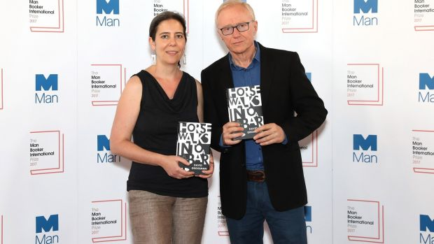 Author David Grossman and translator Jessica Cohen. Photograph: Tim P. Whitby/Getty Images