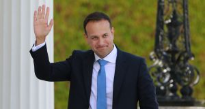 Declaring that he was 'elected to lead but I promise to serve', Leo Varadkar recommitted himself to the Coalition arrangement. Photograph Nick Bradshaw