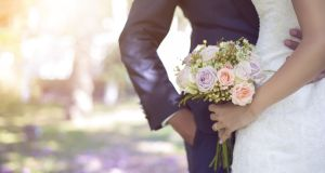 Blurry concept: Most people marry to have a lovely day and exhibit their relationship for friends and family. Photograph: iStock/Getty