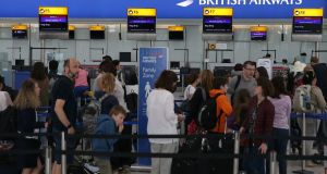 Heathrow Airport  advised travellers departing from Terminal 3 and Terminal 5 to pack essential items in their hand luggage