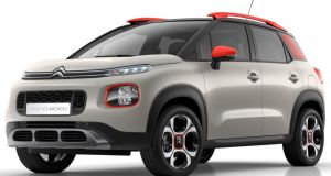 Funky: the new Citroën C3 Aircross has individual character