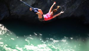 Those with vascular disease, eye problems and reduced bone density may be at greater risk of injury from bungee jumping