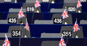 Life after Brexit: MEPs will be asked to vote by simple majority to approve or reject the withdrawal treaty. Photograph: Frederick Florin/AFP/Getty