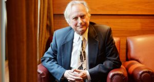 Richard Dawkins: a big fan of the son, if not the father. Photograph: Alan Betson