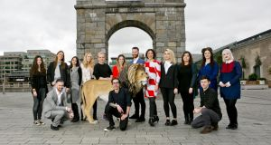 Young Cannes Lions who will represent Irish advertising at this year's Cannes Lions International Festival of Creativity . Photograph: Chris Bellew/Fennell Photography