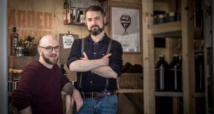 The Bearded Candle Makers, Mark Kelly and Michael Morris