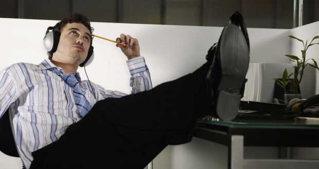 Employees with low self-control exert less effort at work and become distracted more easily. Photograph: Getty Images