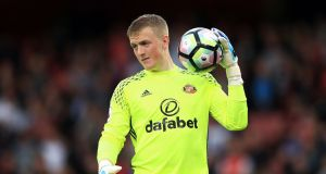 Goalkeeper Jordan Pickford has completed a £30million move to Everton from Sunderland on a five-year deal, both clubs have announced. Photo: John Walton/PA Wire