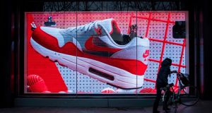 Key to Nike's strategy is focusing on its 12 most important cities: New York, London, Shanghai, Beijing, Los Angeles, Tokyo, Paris, Berlin, Mexico City, Barcelona, Seoul and Milan. Photograph: Johannes Eisele/AFP/Getty Images