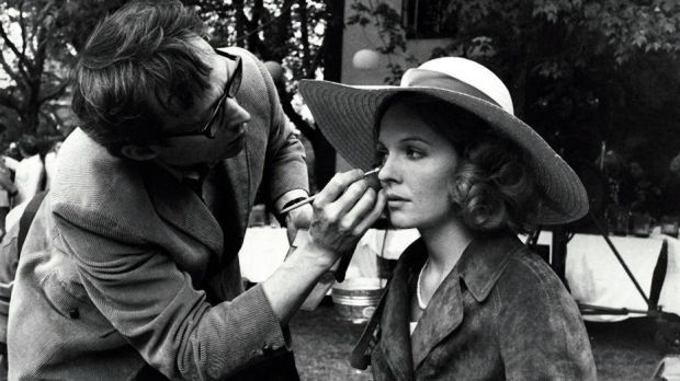 Diane Keaton on the set of The Godfather. Photograph: Paramount Pictures