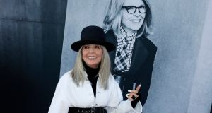 Diane Keaton arrives for the American Film Institute Lifetime Achievement Gala   in Hollywood where she received a lifetime achievement award earlier this month. Photograph: EPA/Paul Buck