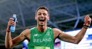 Ireland's Thomas Barr came third in the Diamond League meeting in Oslo. Photo: Inpho