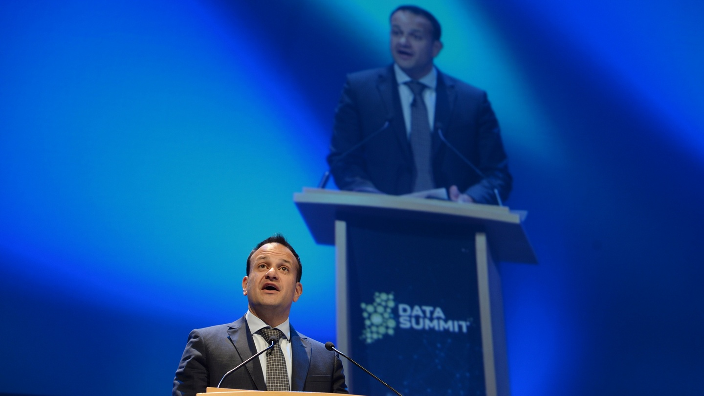 Russian intervention in us election was no one off irish times - Leo Varadkar Addressing The Data Summit In Dublin His First Public Appearance At An Event