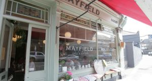 Mayfield Eatery on Terenure Road North: an  old butcher shop that was turned it into 'a tiny neighbourhood restaurant with real personality'. Photograph: Alan Betson