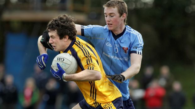Playing for the DCU Sigerson Cup team in 2012. Photograph: Inpho