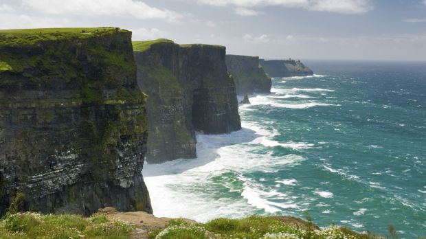 Cliffs of Moher: Tourism operators are upbeat about business from North American and other long-haul markets.