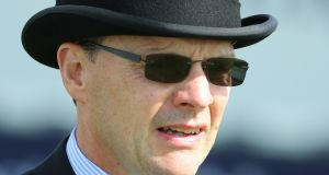Aidan O'Brien: Could saddle odds-on favourites in half of Royal Ascot's eight Group One prizes. Photograph: Donall Farmer/Inpho