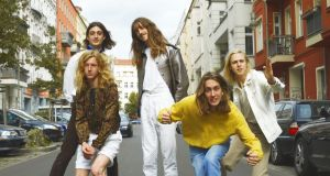 Parcels headline the  main stage on Friday
