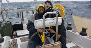 Claire and Nick: It's eight months since they first set sail, but Ireland is in sight.