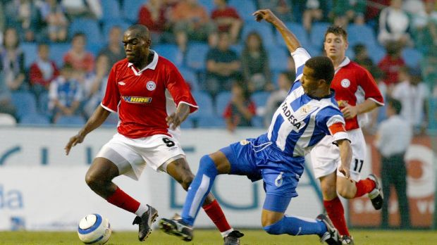 It's a long way from the days of Joseph N'do and playing Deportivo La Coruna in Champions League qualifiers. Photo: Morgan Treacy/Inpho