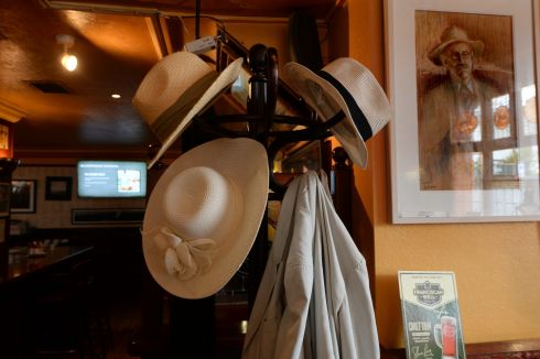 A hatstand at Fitzgerald's Sandycove.  Photograph: Cyril Byrne / The Irish Times
