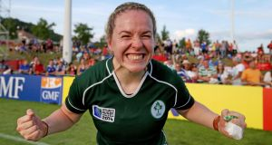 "Niamh Briggs, captain of the Irish women's rugby team. ""I dreamed of winning an All-Ireland for Waterford at Croke Park, but never of playing rugby for Ireland.""  Photo: Dan Sheridan / Inpho"