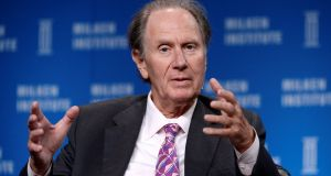 David Bonderman: apologised and resigned. Photograph: Kevork Djansezian/Reuters/File Photo
