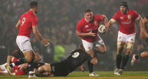 Tadhg Furlong delivered another fine performance in the Lions' 32-10 win over the New Zealand Maori. Photograph: David Davies/PA