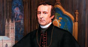 John Joseph Hughes: founded St John's College (now Fordham University) and laid the cornerstone of St Patrick's Cathedral in New York