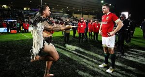 Peter O'Mahpny captained the Lions against the New Zealand Maori and could do so again in the first Test. Photograph: Hannah Peters/Getty