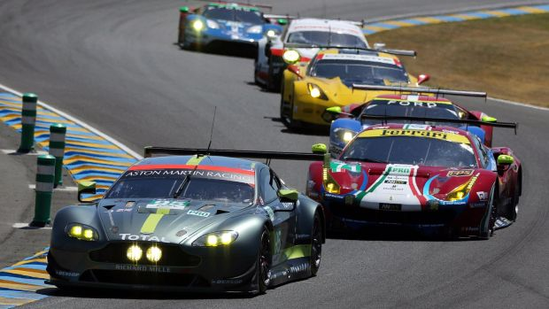 Perhaps the greatest battle on the track was between the GT cars, with Aston Martin coming out on top in the final laps