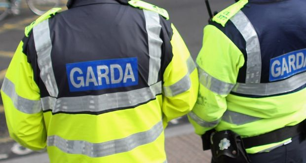 Garda searches of two vehicles on Friday night discovered a loaded Glock handgun, balaclavas and a container of petrol. Photograph: Oli Scarff/Getty Images