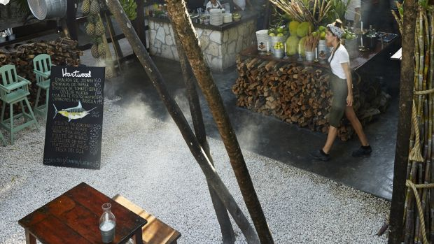Hartwood, Tulum. Taken from 'Hartwood' by Eric Werner and Mya Henry (Artisan Books). Photograph: Gentl & Hyers